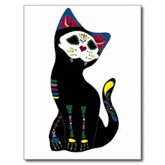 'Gato Muerto' Dia De Los Muertos Cat Post Card today price drop and special promotion. Get The best buyReview          'Gato Muerto' Dia De Los Muertos Cat Post Card today easy to Shops & Purchase Online - transferred directly secure and trusted checkout...