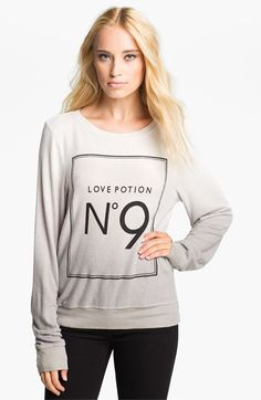 @Hershey leigh  to match little?  Wildfox 'Love Potion' Sweatshirt | Nordstrom