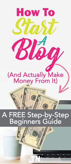 So you've heard you can make money with a blog and want to get started. There are a ton of bits and pieces of information out there and it's kind of hard to