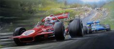 Spa-Francorchamps 1970 F1 GP by donpackwood on @DeviantArt