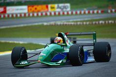 Bertrand Gachot  Jordan - Ford 1991