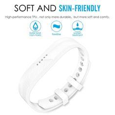 WONDERFUL WHITE Wristband Band Strap Bracelet Accessories For FITBIT FLEX 2 Fitbit Flex, Band, Bracelets, Accessories, Sash, Bracelet, Bands, Arm Bracelets, Bangle