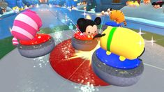 Disney TSUM TSUM FESTIVAL has landed on the Nintendo Switch, and we were invited to check it out. This exciting new game enables fans from all over the world to Disney Games, Walt Disney, Fun New Games, Pixar Characters, Disney Tsum Tsum, Adventures By Disney, Disney Addict, Disney Junior, Nintendo Switch