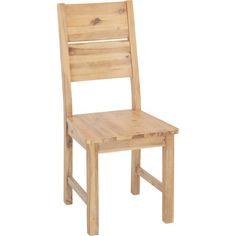 Dieser Rustikale Stuhl Aus Massivem Akazienholz Bringt Wohnlichkeit Und  Wärme In Ihr Zuhause Und Bietet Ihnen Eine Praktische Sitzgelegenheit Für  Viele ...