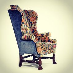 Photo by gibidesign - HL Chalfant William & Mary Wing Chair