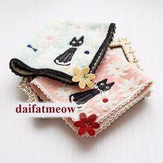 STUDIO GHIBLI KiKi's Delivery Service Pocket Towel Handkerchief Japan FREE SHIP