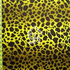 leopard pattern on a Four Way Stretch Nylon Spandex. Leopard Print Fabric, Leopard Pattern, Animal Print Rug, Fur, Shopping, Number, Patterns, Style, Block Prints