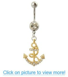 Searching for affordable Belly Button Rings Anchor in Jewelry & Accessories? Buy high quality and affordable Belly Button Rings Anchor via sales. Enjoy exclusive discounts and free global delivery on Belly Button Rings Anchor at AliExpress Anchor Belly Rings, Cute Belly Rings, Belly Button Rings, Gem Bar, Deb Shops, Belly Bars, Piercing Ring, Crystal Rhinestone, Gems