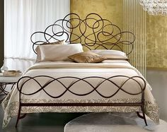 Hand-forged Iron Beds From Ciacci Of Italy:  Nuvola