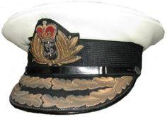 Royal Canadian Navy Admiral's Cap 1953-1968