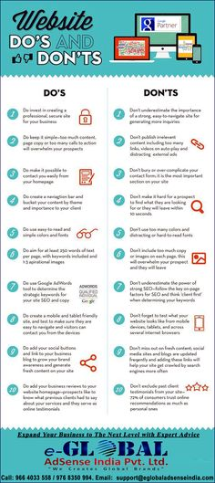 20 do's and don'ts f
