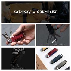 Orbitkey is een unieke samenwerking aangegaan met het Australische merk Crumpler! De Orbitkey is een praktische accessoire die sleutels organiseert in een handomdraai. Deze samenwerking heeft een milieuvriendelijk uitgangspunt. De Orbitkeys zijn vervaardigd uit reststoffen van Crumpler tassen. Hiermee zijn vijf prachtige en unieke stijlen ontworpen die verkrijgbaar zijn in onze winkel en online. #cadeautip Beauty, Accessories, Cosmetology