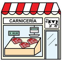 Pictogramas ARASAAC - Carnicería.