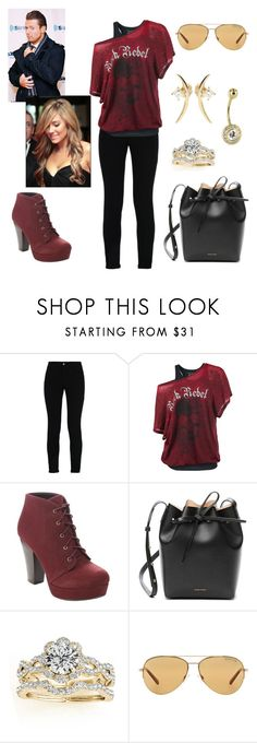 """The Miz: you wear his favorite semi casual outfit"" by dpclma ❤ liked on Polyvore featuring STELLA McCARTNEY, Mansur Gavriel, Allurez, Michael Kors, Wasson Fine and WWE"