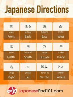 Directions - #Directions #japonaise