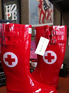 Wellies for Red Crossers!
