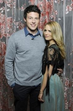Dianna and Cory Monteith