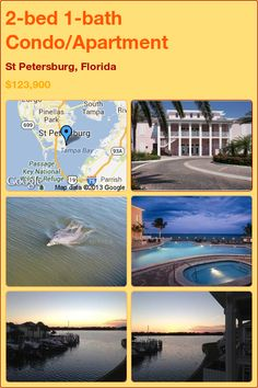 2-bed 1-bath Condo/Apartment in St Petersburg, Florida ►$123,900 #PropertyForSale #RealEstate #Florida http://florida-magic.com/properties/4761-condo-apartment-for-sale-in-st-petersburg-florida-with-2-bedroom-1-bathroom