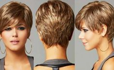 These are beautiful short hairstyles for fall! Gorgeous! Do you want to give it a try?