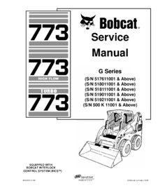 BOBCAT S250, S300 SKID STEER LOADER SERIES SERVICE REPAIR