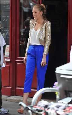 Love the blazer and the pants  Midas Touch - Fashion Flashback-The 15 Best 'Gossip Girl' Outfits Ever - StyleBistro