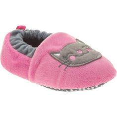 Girl's Prewalk Slipper, Size: 3 to 4, Pink
