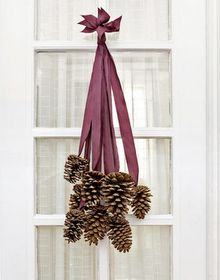 Instead of a wreath