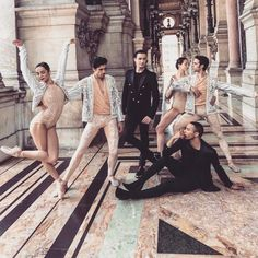 Balmain's Costumes for the Paris Opera Are Here - Olivier Rousteing Costumes for Paris Ballet, Renaissance by Sebastien Bertraud