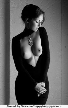 Изящная, брюнетка, грудь