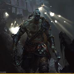 The Elder Scrolls Legends,The Elder Scrolls,фэндомы,TES art,Орсимер,TES расы