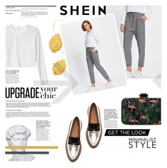 """№"" by sophiateresa ❤ liked on Polyvore featuring Monki, Walton, white, Minimaliststyle and shein"