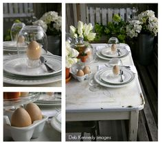 Adorable table setting via FOLK