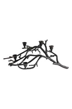 Candelabro a forma di ramo - Nero - HOME | H&M IT 1
