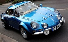 Renault Alpine – too pretty to go rallying, yet it did just that. Renault Alpine – too pretty to go rallying, yet it did just that. Auto Retro, Retro Cars, Vintage Cars, Classic Sports Cars, Classic Cars, Moto Quad, Alpine Car, Alpine Renault, Automobile