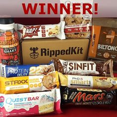 There can be only 1... congrats @slimsazzle, this month it's you! You've been randomly selected to win our monthly photo competition, so your next box is on the house 🙌 check your DMs • • • • •  #gettinglean #proteinbars #proteinbar #proteincookies #upperbody
