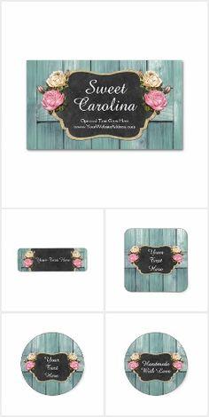 Sweet Carolina on @zazzle #SmallBusiness #Handmade #Craft #Marketing #Branding #Rustic #Barn #Wood #Vintage #Roses #Chalk #Chalkboard #Burlap #Farmhouse #ShabbyChic #Stickers #Business #Card #Personalized #Custom #DIY #Printable #Zazzle