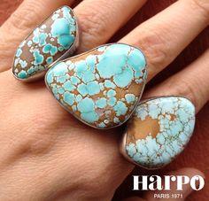 Harpo Bijoux #bagueturquoise #bijouxamérindiens #bijouxnavajo