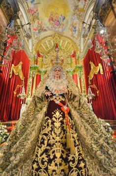 Hoy, misa Solemne en la Festividad de la Virgen de Loreto Semana Santa de Sevilla -