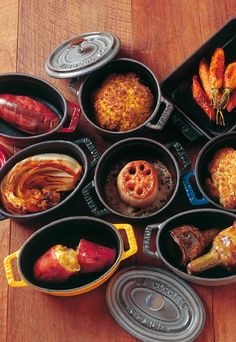 Mini Cocottes von Staub for some fine cook