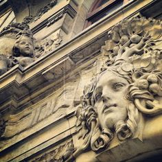 Old architecture details.