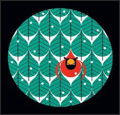 Coniferous Cardinal - Click Image to Close