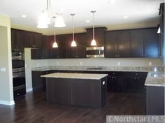 kitchen cupboards and granite