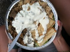 halal cart food. yummy