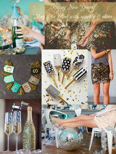 Happy New Year!   sparkle + shine // something lovely