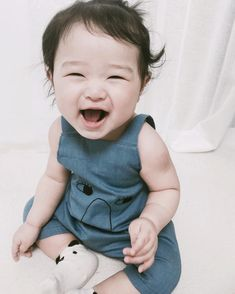 Cute little asian