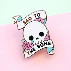 #Repost @tinrobo my very first enamel pins arrived! grab one at tinrobo.etsy.com #enamelpin #pingame #skull #skeleton #sad #illustrator #etsyseller (Posted by https://bbllowwnn.com/) Tap the photo for purchase info. Follow @bbllowwnn on Instagram for great pins patches and more!