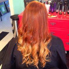 ombré hair, I've really been wanting to get this done.