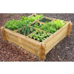 Solid vierkantemetertuin 'Kent' Horticulture, Small Garden Landscape, Garden Planner, Raised Garden Beds, Growing Vegetables, Garden Projects, Amazing Gardens, Garden Furniture, Backyard Landscaping