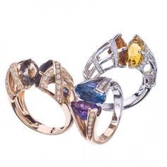CIJ International Jewellery TRENDS & COLOURS - TRENDS & COLORS: Rings by…