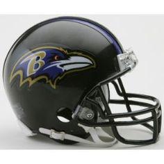 NFL Baltimore Ravens Mini Football Helmet